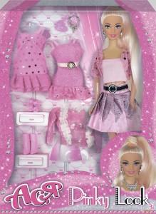 Набор с куклой Ася 'Розовый стиль'