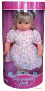 Мягкая кукла Lotus Onda в летнем платье (40 см) (16998-1)