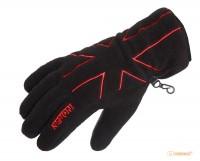 Перчатки флисовые женские Norfin Women Black (с утеплением) M (705062-M)