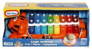 Музыкальная игрушка 'Модные мелодии. Тигренок-ксилофон' (два в одном)