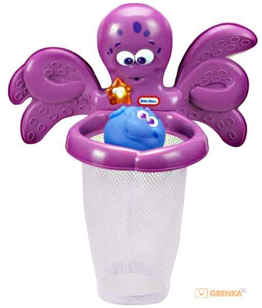 Игровой набор Баскетбол с осьминогом (для игры в ванной)