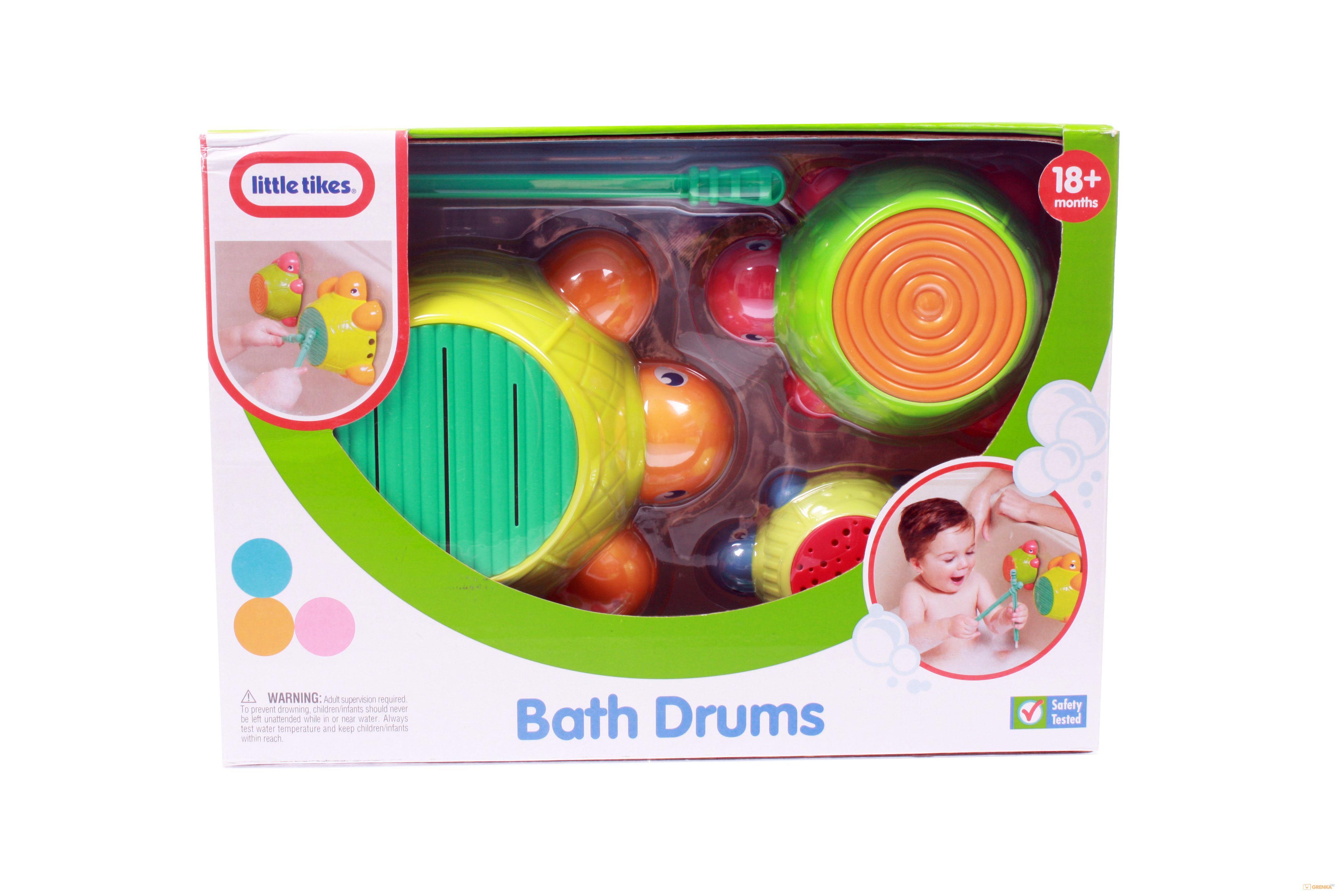 Купить Игровой набор 'Черепашки-барабанчики' (для игры в ванной), LITTLE TIKES