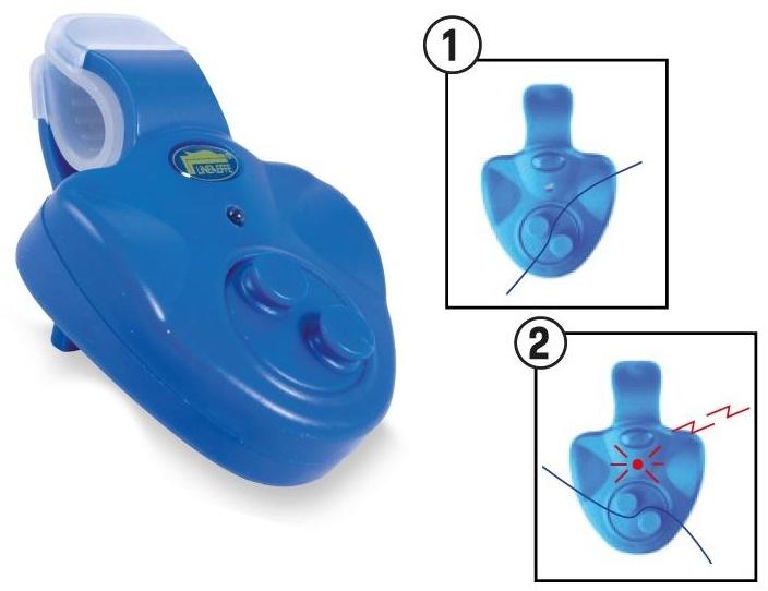 Купить Сигнализатор клева Lineaeffe Bite Alarm Blue электронный (6300066)