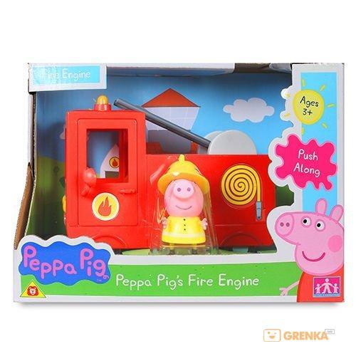 Игровой набор Peppa Pig Пожарная машина Пеппы