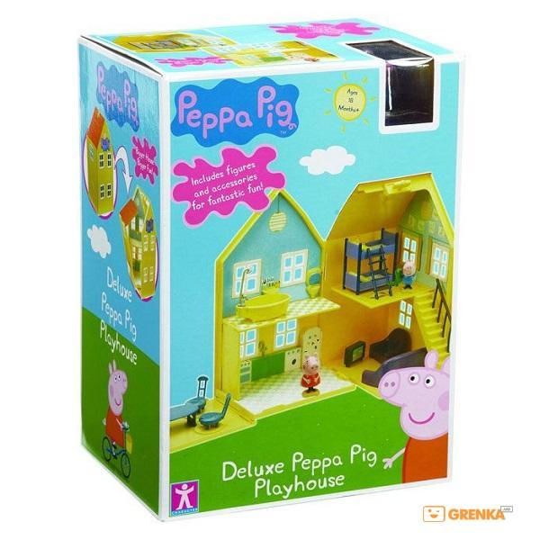 Игровой набор Peppa Pig Загородный дом Пеппы