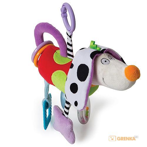 Купить Развивающая игрушка-подвеска 'Смышленый песик', Taf Toys