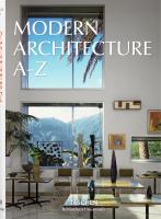 Книга Modern Architecture A–Z
