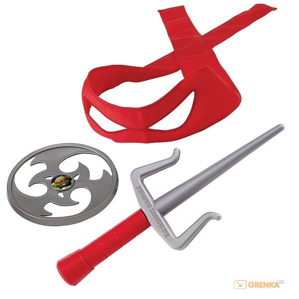 Набор игрушечного звукового оружия TMNT Черепашки-ниндзя Рафаэль
