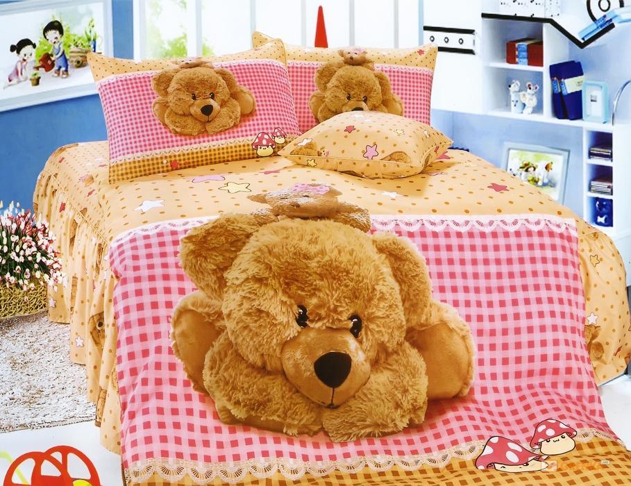 Детское постельное белье La Scala KI-078 полуторный