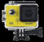 Экшн-камера Bravis A3 Yellow (BRAVISA3y)