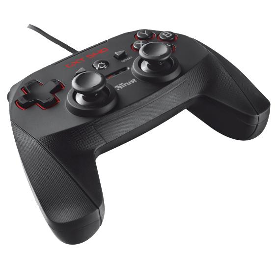 Игровой манипулятор Trust GXT-540 wired gamepad для ПК и PlayStation 3 (20712)