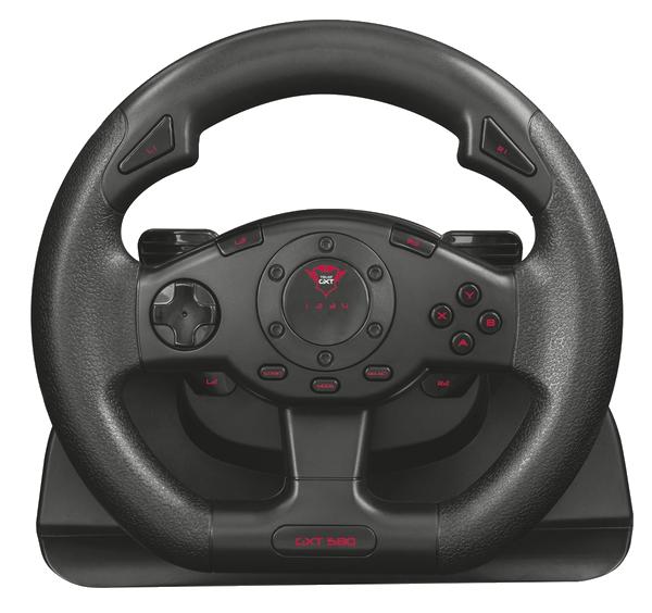 Игровой манипулятор Trust GXT 580 vibration feedback racing wheel (21414)