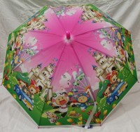 Детский зонт Feeling Rain 82 см (малиновый)