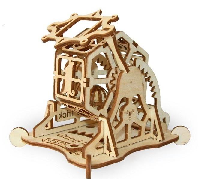 Купить Механический 3D пазл Wood Trick 'Колесо фортуны' (1234-13)