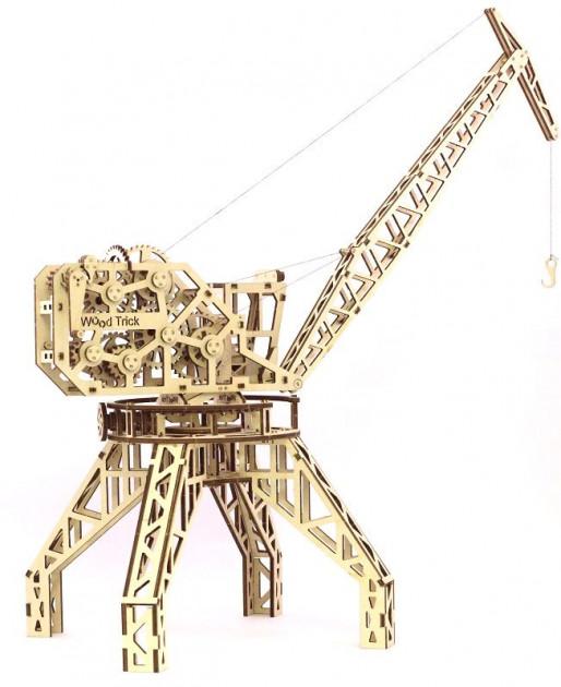 Механический 3D пазл Wood Trick 'Кран' (1234-4)  - купить со скидкой