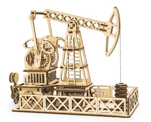 Купить Механический 3D пазл Wood Trick 'Нефтяная вышка' (1234-11)