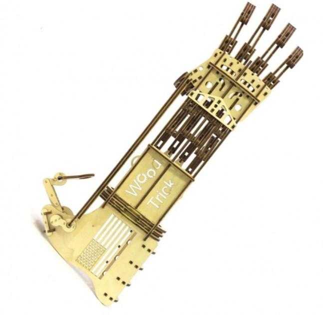 Механический 3D пазл Wood Trick 'Рука' (1234-8)  - купить со скидкой