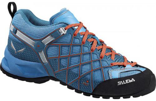 Купить Кроссовки ж Salewa WS Wildfire Vent 63423/0336 (синий) 37 (UK 4.5)