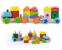 Конструктор Viga Toys 'Поезд' (50534)