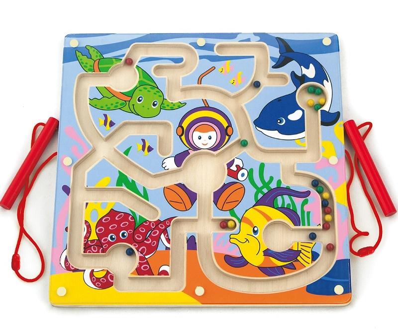 Купить Лабиринт Viga Toys 'Подводный мир' (50123)