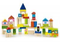 Набор строительных блоков Viga Toys 'Город' 75 шт. (50287)