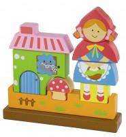 Пазл Viga Toys 'Красная Шапочка' (50075)