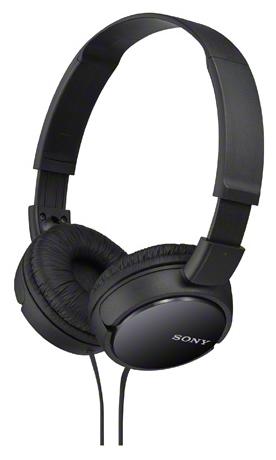 Купить Наушники Sony MDR-ZX110/B Black (MDRZX110B.AE)