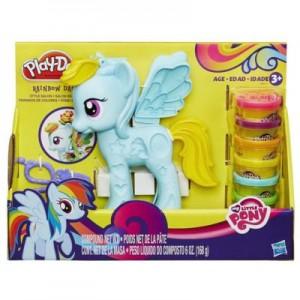 Игровой набор My Little Pony Play-Doh 'Стильный салон Рэйнбоу Дэш'  (B0011)
