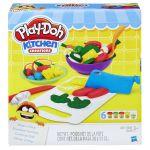 Набор Play-Doh 'Приготовь и нарежь на дольки' (B9012)