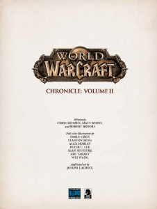 фото страниц World of Warcraft: Chronicle Volume 2 #3