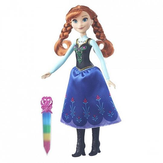 Кукла Disney Холодное Сердце с сияющим нарядом (B6162)