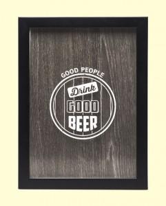 Подарок Копилка для пивных крышек 'GoodBeer'