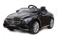 Электромобиль T-799 Mercedes S63 AMG BLACK легковой на р. у.