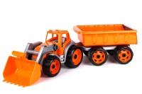 Игрушка ТехноК 'Трактор с ковшом и прицепом' (3688)