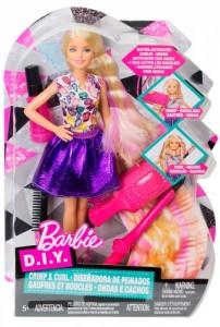 Набор с куклой Barbie 'Удивительные кудри, блондинка'