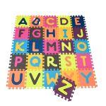 Детский развивающий коврик-пазл Battat 'ABC' (140х140 см, 26 квадратов) (BX1210Z)