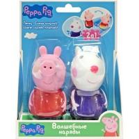 Набор игрушек-брызгунчиков Peppa 'Волшебные наряды' (Пеппа и Сюзи, меняют цвет в теплой воде) (30709)