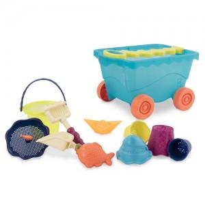 Набор для игры с песком и водой Battat 'Тележка море' (BX1596Z)