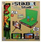 Игровой набор для анимационного творчества Stikbot 'Студия Z-Screen' (2 эксклюзивеные фигурки, штатив, сцена) (TST617)