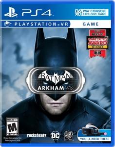 игра Batman: Arkham PS4 VR