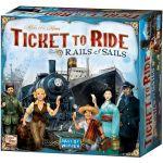 Настольная игра 'Ticket to Ride: Rails & Sails' (Билет на поезд: Рельсы и паруса)