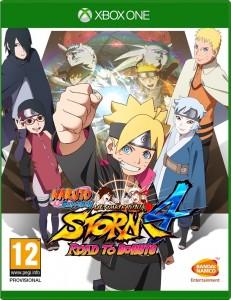 игра Naruto: Shippuden Ultimate Ninja Storm 4. Road to Boruto Xbox One