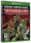 игра Teenage Mutant Ninja Turtles Mutants in Manhattan Xbox One