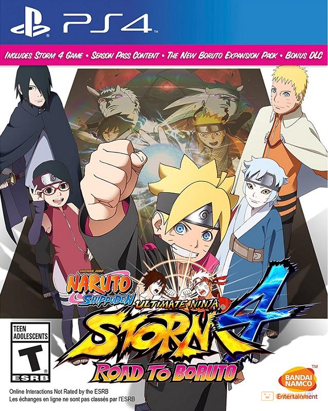 Купить Naruto: Shippuden Ultimate Ninja Storm 4. Road to Boruto PS4, Namco Bandai