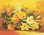 Картина по номерам 'Букет в желтом цвете'