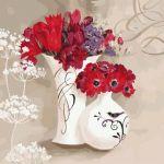 Картина по номерам 'Цветочное дыхание'