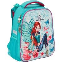 Рюкзак школьный каркасный (ранец) Kite 531 Winx fairy couture W17-531M