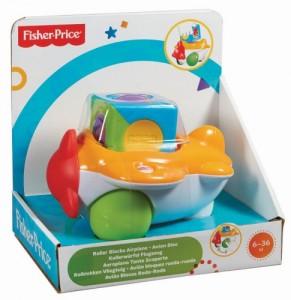 Развивающие кубики Fisher-Price 'Самолет' (CDV89-1)
