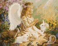Картина по номерам 'Ангел'