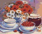 Картина по номерам 'Приглашение на чай'
